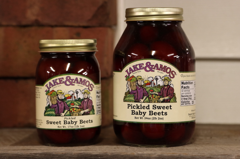 Jake & Amos Sweet Pickled baby beets